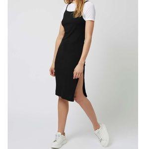 Topshop Petite t-shirt midi dress